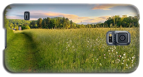 Sunny Valley Sunrise Galaxy S5 Case