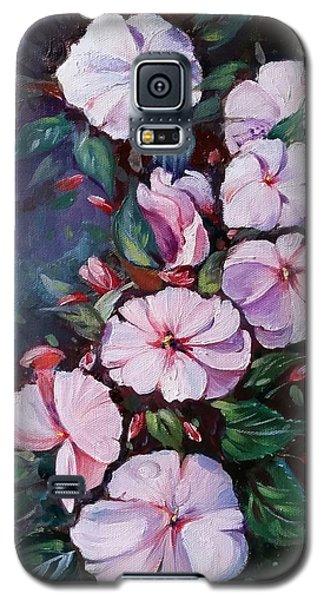 Sunpatiens Flowers Galaxy S5 Case