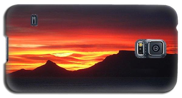 Sunrise Over Table Mountain Galaxy S5 Case