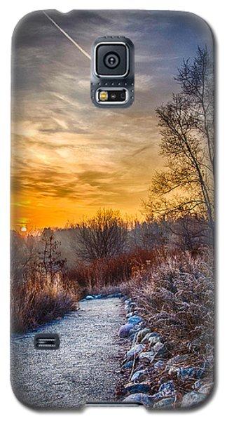 Sunrise 12-2-13 01  Galaxy S5 Case by Michael  Bennett