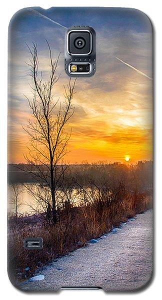 Sunrise 12-2-13 02 Galaxy S5 Case by Michael  Bennett