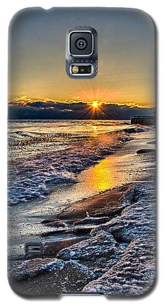 Sunrise 12-5-13 II Galaxy S5 Case by Michael  Bennett