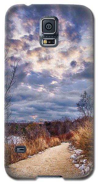 Sunrise 12-5-13 Galaxy S5 Case by Michael  Bennett