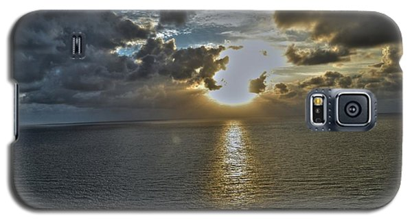 Galaxy S5 Case featuring the photograph Sunrise Above Fort Lauderdale Beach Florida by Timothy Lowry