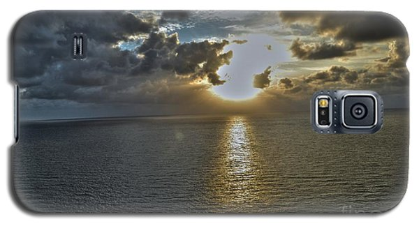 Sunrise Above Fort Lauderdale Beach Florida Galaxy S5 Case by Timothy Lowry