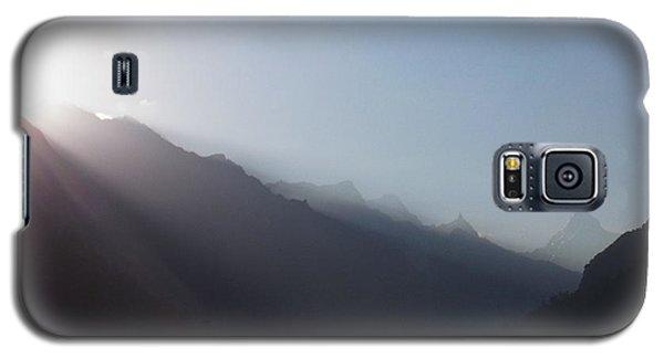 Sunrise Above Gangotri Galaxy S5 Case