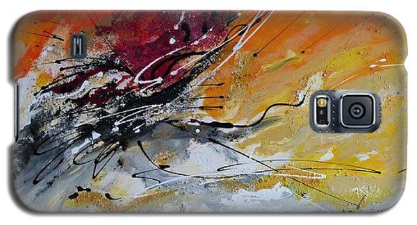 Sunrise - Abstract Art Galaxy S5 Case by Ismeta Gruenwald