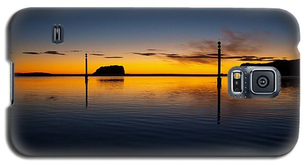 Galaxy S5 Case featuring the photograph Sunrise And Calm by Trena Mara