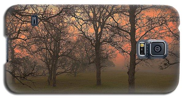 Fog And Sunrise 2 Galaxy S5 Case by John Norman Stewart