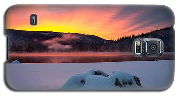Sunrise At Bass Lake Galaxy S5 Case