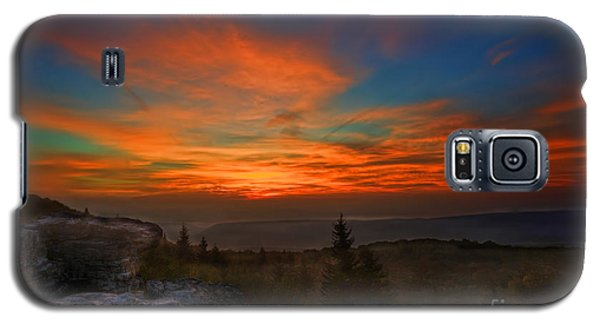 Sunrise At Bear Rocks In Dolly Sods Galaxy S5 Case