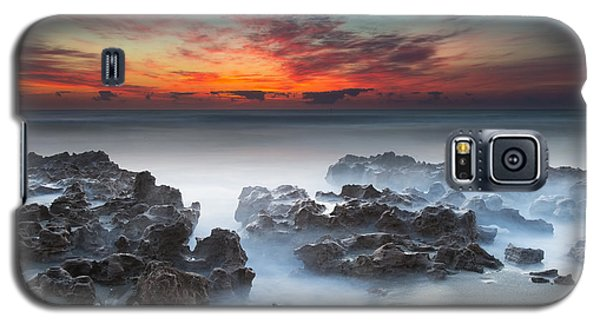 Sunrise At Blowing Rocks Preserve Galaxy S5 Case