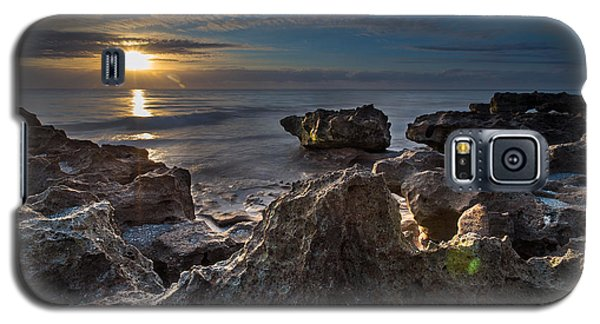 Sunrise At Coral Cove Park In Jupiter Galaxy S5 Case