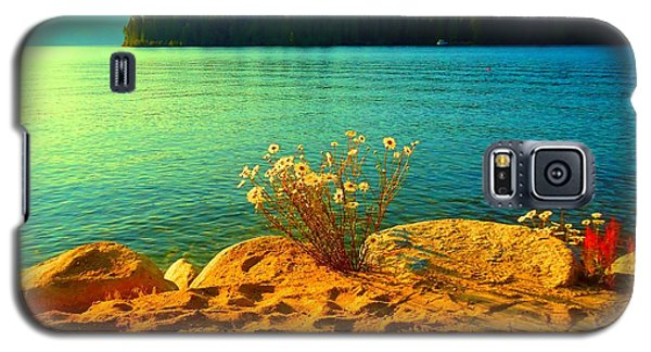 Galaxy S5 Case featuring the photograph Sunrise At Daisy Lake by Ann Johndro-Collins