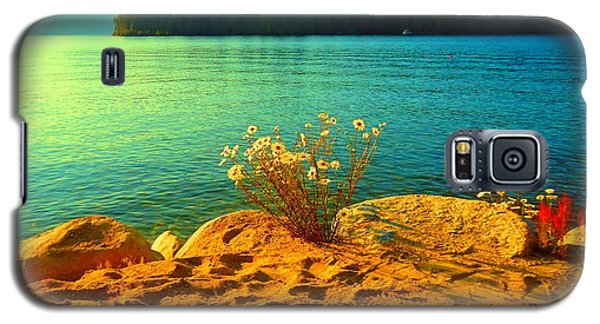 Sunrise At Daisy Lake Galaxy S5 Case by Ann Johndro-Collins