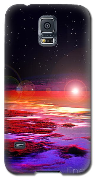 Galaxy S5 Case featuring the photograph Sunrise At Fourty Thousand  by Adam Olsen