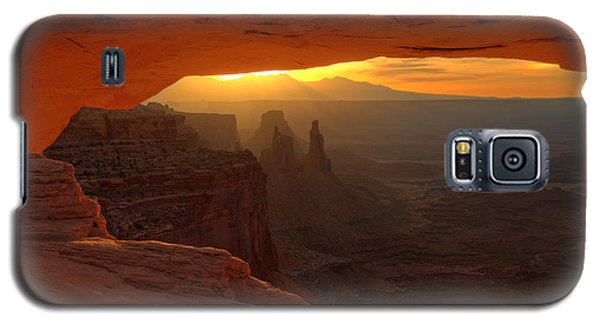 Sunrise At Mesa Arch 2 Galaxy S5 Case