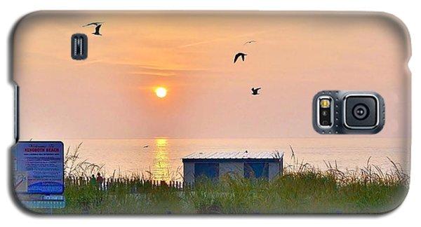 Sunrise At Rehoboth Beach Boardwalk Galaxy S5 Case