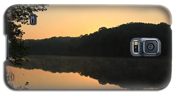 Galaxy S5 Case featuring the photograph Sunrise At Rose Lake by Julie Andel