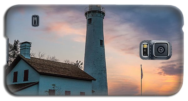 Galaxy S5 Case featuring the photograph Sunrise At Sturgeon Point by Patrick Shupert