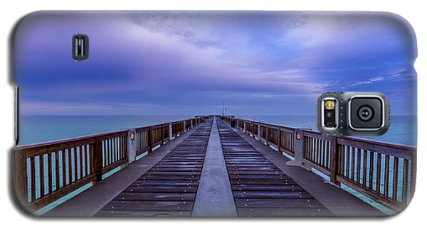 Sunrise At The Panama City Beach Pier Galaxy S5 Case
