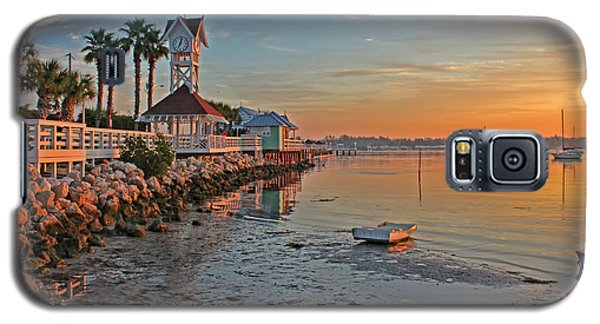 Sunrise At The Pier Galaxy S5 Case by HH Photography of Florida