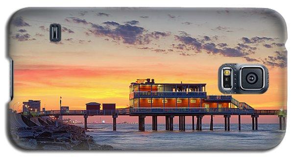 Sunrise At The Pier - Galveston Texas Gulf Coast Galaxy S5 Case