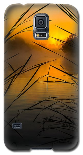 Sunrise At The Sepulveda Dam Wildlife Reserve Galaxy S5 Case