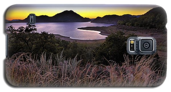 Sunrise Behind The Quartz Mountains - Oklahoma - Lake Altus Galaxy S5 Case