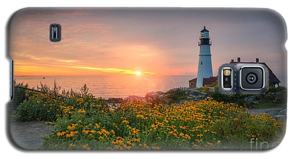 Sunrise Bliss At Portland Lighthouse Galaxy S5 Case