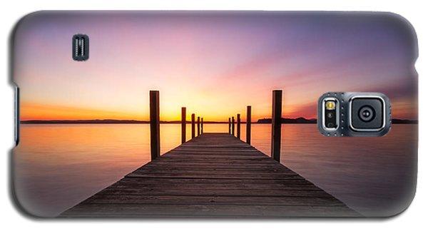 Sunrise Cafe Galaxy S5 Case