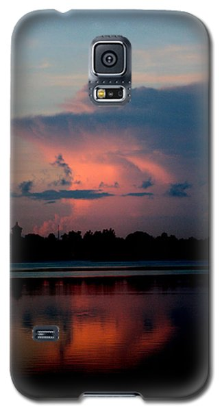 Sunrise Cloud Reflection Galaxy S5 Case
