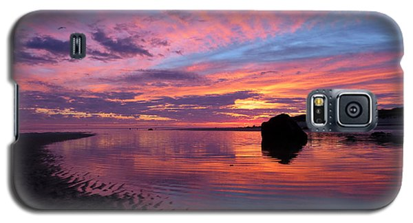 Galaxy S5 Case featuring the photograph Sunrise Drama by Dianne Cowen