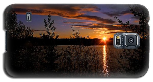 Galaxy S5 Case featuring the photograph Sunrise Fairbanks Alaska by Michael Rogers