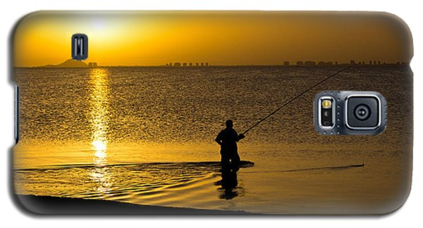 Sunrise Fishing Galaxy S5 Case by Scott Carruthers