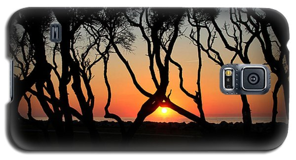 Sunrise Fort Fisher Galaxy S5 Case by Phil Mancuso
