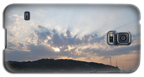 Galaxy S5 Case featuring the photograph Sunrise by George Katechis