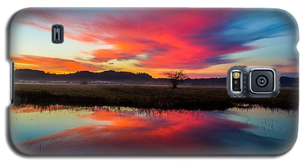 Sunrise Glory Galaxy S5 Case