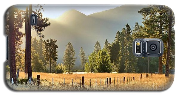 Sunrise Gold Galaxy S5 Case
