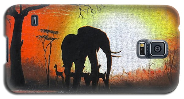 Sunrise In Africa Galaxy S5 Case