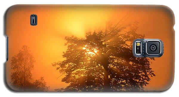 Sunrise In Fog Galaxy S5 Case