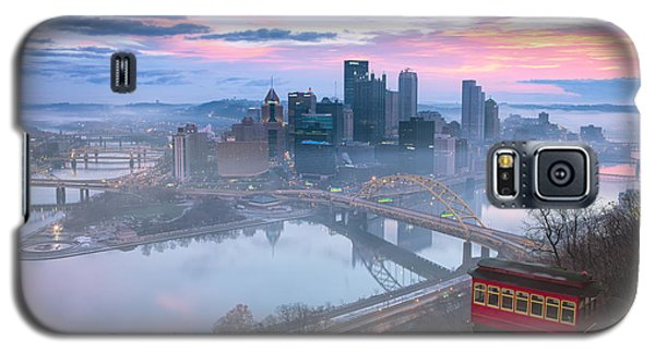 Pittsburgh Fall Day Galaxy S5 Case