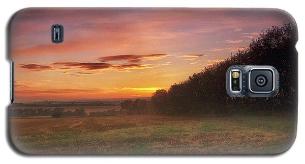Sunrise In The Fields Galaxy S5 Case