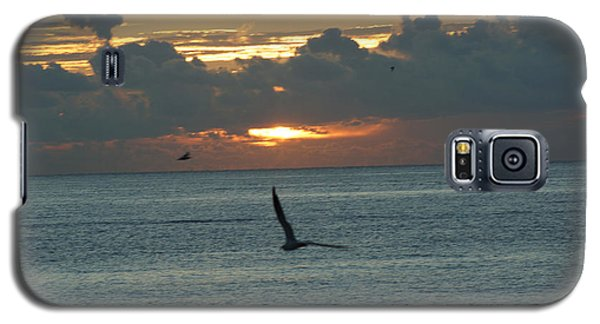 Galaxy S5 Case featuring the photograph Sunrise In The Florida Riviera by Rafael Salazar