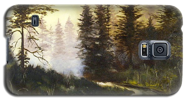 Sunrise In The Forest Galaxy S5 Case