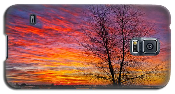 Sunrise In The Sacramento Valley Galaxy S5 Case