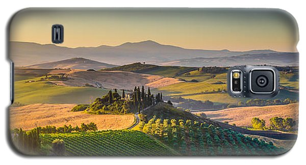 A Golden Morning In Tuscany Galaxy S5 Case
