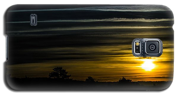 Galaxy S5 Case featuring the photograph Sunrise In Virginia by Angela DeFrias