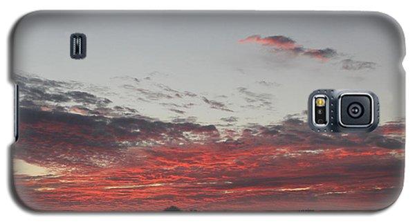 Galaxy S5 Case featuring the photograph Sunrise by John Mathews