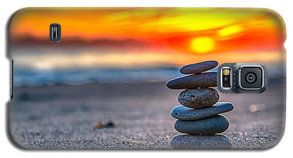 Sunrise Lake Michigan 10-27-13 Galaxy S5 Case by Michael  Bennett